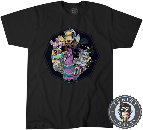 The Battle Squad Game Inspired Cute Gamer Tshirt Mens Unisex 1423