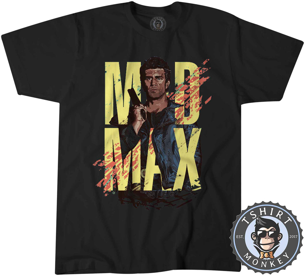 Mad Max Inspired Classic Illustration Tshirt Kids Youth Children 0354