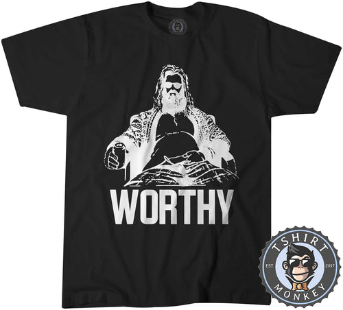 FaThor - Worthy - Vintage Funny Beer Drinking Tshirt Kids Youth Children 1354