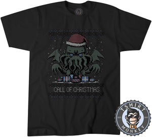 Call Of Christmas Ugly Sweater Tshirt Mens Unisex 2998