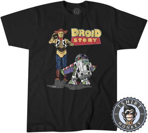 Droid Story Tshirt Kids Youth Children 0197