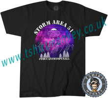 Load image into Gallery viewer, Storm Area 51 T-Shirt Unisex Mens Kids Ladies - TeeTiger
