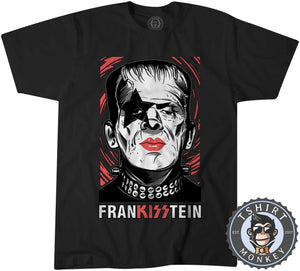 Frankisstein - Music Inspired Kiss Halloween Mashup Tshirt Kids Youth Children 1135