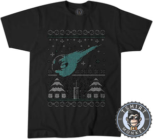 Comet Ugly Sweater Christmas Tshirt Mens Unisex 2910