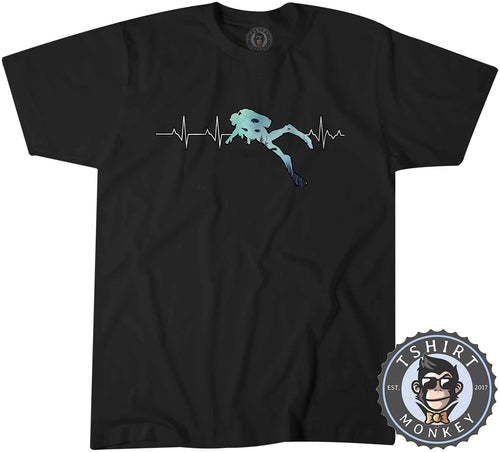 Scuba Diver Sea Lover Summer Tshirt Shirt Mens Unisex 2171