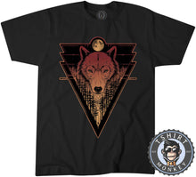 Load image into Gallery viewer, Fantasy Lone Wolf Unique Animal Print Graphic Tshirt Mens Unisex 1471