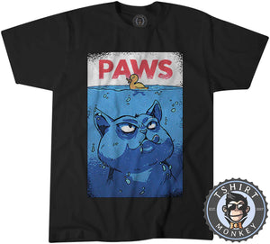 Paws - Halftone Tshirt Kids Youth Children 3015