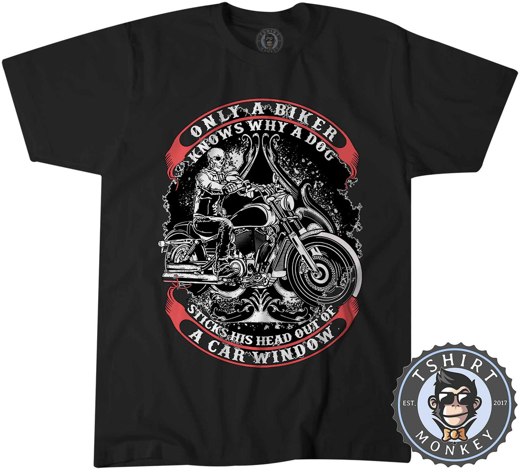 Only A Biker Knows Why Vintage Tshirt Kids Youth Children 1228