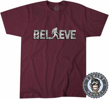 Load image into Gallery viewer, Believe - Bigfoot Inspired Sasquatch Cool Vintage Tshirt Mens Unisex 1221