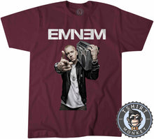 Load image into Gallery viewer, Eminem Tshirt Mens Unisex 0128
