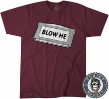 Load image into Gallery viewer, Blow Me Game Inspired Classic Game Cartridge Statement Tshirt Mens Unisex 1202