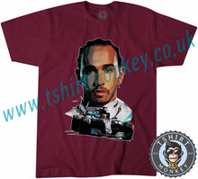 Load image into Gallery viewer, Lewis Hamilton Formula 1 One 44 Petronas T-Shirt Unisex Mens Kids Ladies - TeeTiger