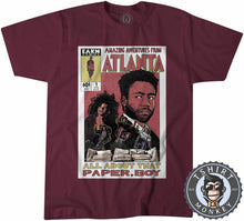 Load image into Gallery viewer, Amazing Adventures From Atlanta Halftone Graphic Illustration Funny Comics Tshirt Mens Unisex 1195
