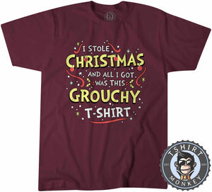 Grouchy Christmas Tshirt Mens Unisex 2847