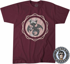 Toothless Badge Christmas Tshirt Mens Unisex 2861