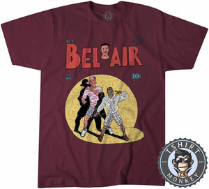 Fresh Prince Of Bel Air TV Inspired Comic Cartoon Tshirt Mens Unisex 1339