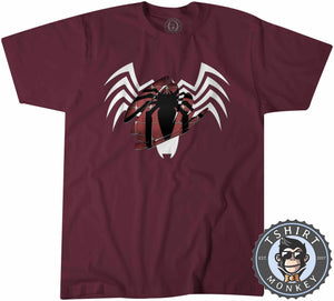 Spider-Man Brushed Color Reveal Tshirt Mens Unisex 0015