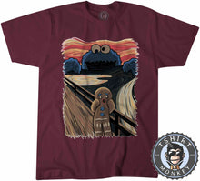 Load image into Gallery viewer, Cookie Monster Gingerbread Scream TV Inspired Mashup Tshirt Mens Unisex 1328