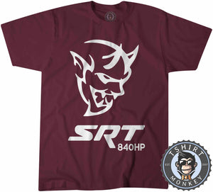 Challenger Demon SRT 840HP Tshirt Mens Unisex 0038