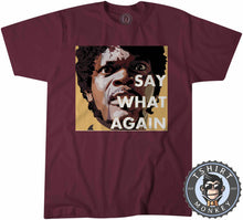 Load image into Gallery viewer, Say What Again Pulp Fiction Movie Inspired Vintage Graphic Tshirt Mens Unisex 1114