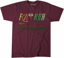 Load image into Gallery viewer, FATHOR Fathers Day Tshirt Shirt Mens Unisex 6451