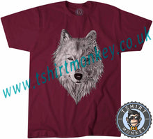 Load image into Gallery viewer, Wolf Art Animals T-Shirt Unisex Mens Kids Ladies