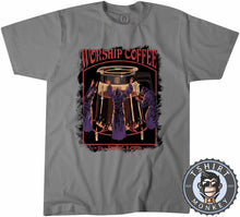 Load image into Gallery viewer, Worship Coffee - Dark Lord - Funny Graphic Illustration Tshirt Mens Unisex 1266