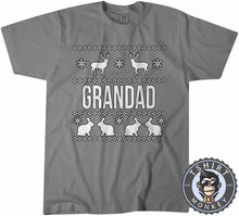 Load image into Gallery viewer, Grandad Ugly Sweater Chistmas Tshirt Mens Unisex 1631