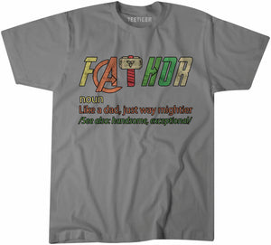 FATHOR Fathers Day Tshirt Shirt Mens Unisex 6451