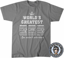 Load image into Gallery viewer, World's Greatest Dad | Guitar Chords Tshirt Mens Unisex 0078