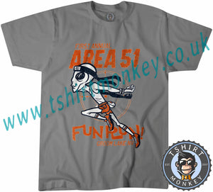 Area 51 Fun Run Meme T-Shirt Unisex Mens Kids Ladies