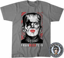 Load image into Gallery viewer, Frankisstein - Music Inspired Kiss Halloween Mashup Tshirt Mens Unisex 1135
