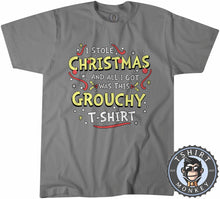 Load image into Gallery viewer, Grouchy Christmas Tshirt Mens Unisex 2847