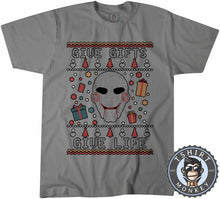 Load image into Gallery viewer, Give Gifts | Give Life Saw Inspired Ugly Sweater Chistmas Tshirt Mens Unisex 1630