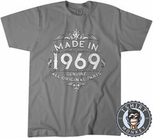 Load image into Gallery viewer, 1969 Made In Highest Quality   Typography Graphic Illustration Shirt Tshirt Mens Unisex 1170