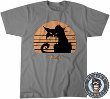 Load image into Gallery viewer, What - Grumpy Cat Funny Vintage Tshirt Mens Unisex 1218