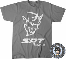 Load image into Gallery viewer, Challenger Demon SRT 840HP Tshirt Mens Unisex 0038