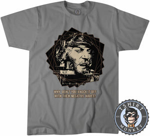 Kelly's Heroes Why Don't You Knock It Off With Them Negative Waves Vintage Tshirt Mens Unisex 1240