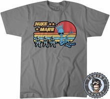Load image into Gallery viewer, Vintage Nuke Mars Funny Astronaut Alien Graphic Tshirt Mens Unisex 1085