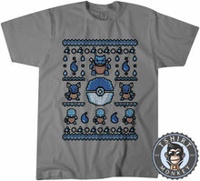Load image into Gallery viewer, Squirtle Ugly Sweater Tshirt Mens Unisex 2914