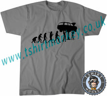 Load image into Gallery viewer, Evolution Mechanic T-Shirt Unisex Mens Kids Ladies - TeeTiger