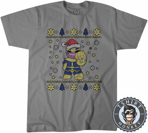 Chibi Thanos Ugly Sweater Christmas Tshirt Mens Unisex 1671