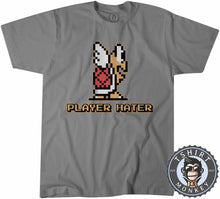 Load image into Gallery viewer, Vintage Koopa Troopa Super Mario Bros Inspired 8Bit Pixel Art Tshirt Mens Unisex 1296