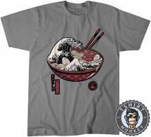 Load image into Gallery viewer, The Wave of Ramen Tshirt Mens Unisex 2927
