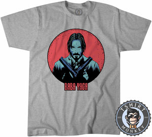 Baba Yaga Movie Inspired Vintage Style Tshirt Shirt Kids Youth Children 2375