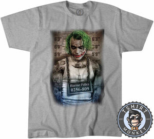 JOKER Prank Mugshot Tshirt Kids Youth Children 0009