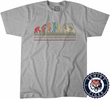 Load image into Gallery viewer, Golfvolution - Golf Inspired Evolution Funny Vintage Tshirt Mens Unisex 1084