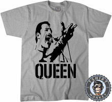 Load image into Gallery viewer, Freddie Mercury Stencil Illustration Tshirt Mens Unisex 0311
