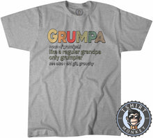 Load image into Gallery viewer, Grumpa - Funny Grandpa Vintage Graphic Tshirt Kids Youth Children 1156