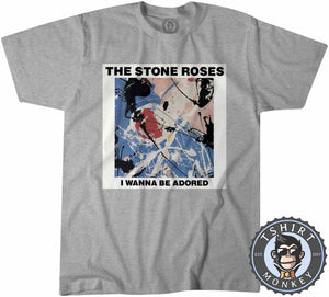 I Wanna Be Adored By The Stone Roses Tshirt Mens Unisex 0172